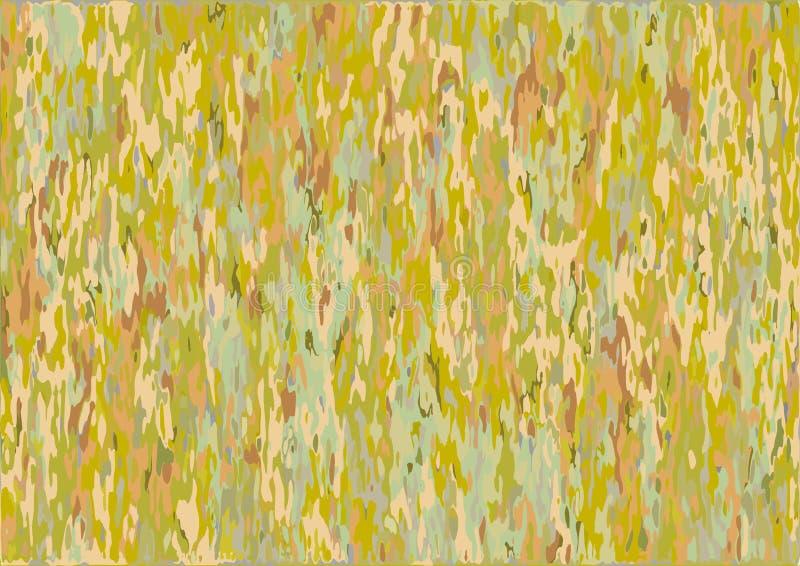 Textur eller bakgrund bildade gräsplan, apelsinen, guling, brunt vektor illustrationer