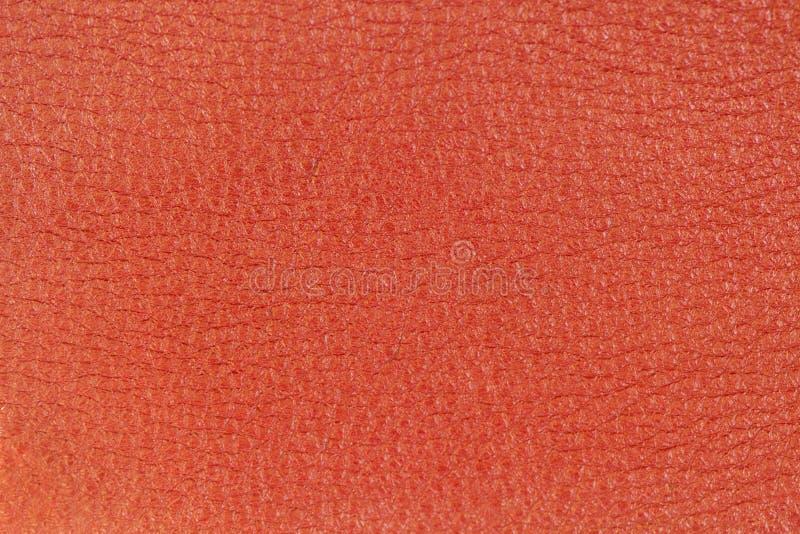 Textur för äktt läder, röd färg Shopping fabriks- begrepp Modern bakgrund, bakgrund, substrate, sammansättning arkivbilder