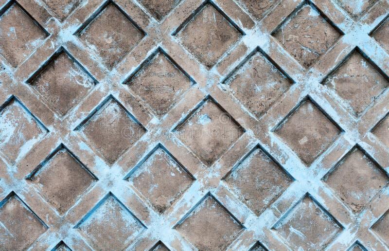 Textur för bakgrund för Grungeblåttbetong royaltyfria foton