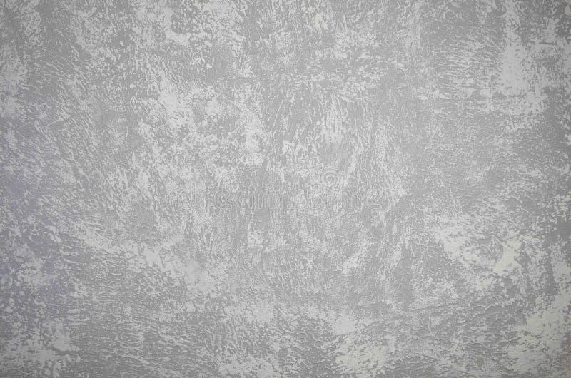 Textur för bakgrund för sten för vitgrå färgbetong arkivbilder