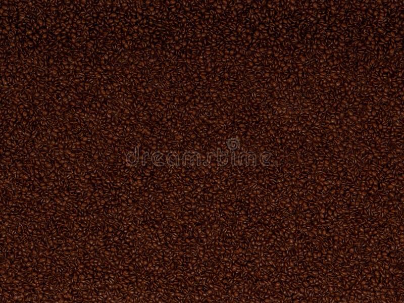 textur för bakgrundsbönakaffe vektor illustrationer