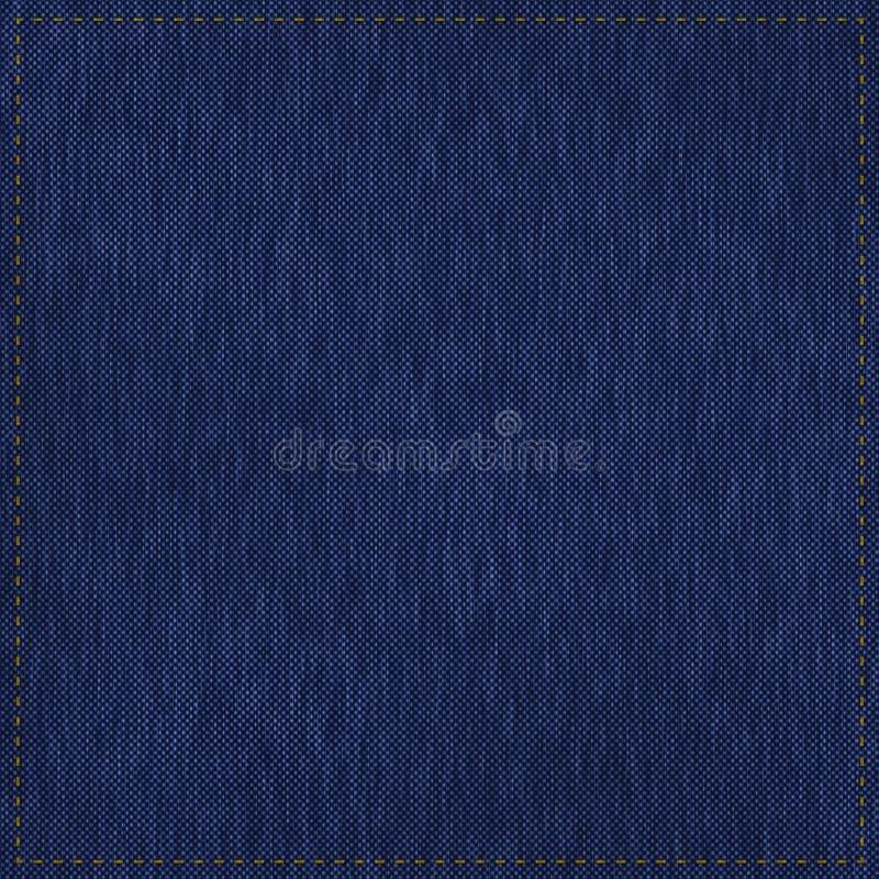Textur för blå jean stock illustrationer