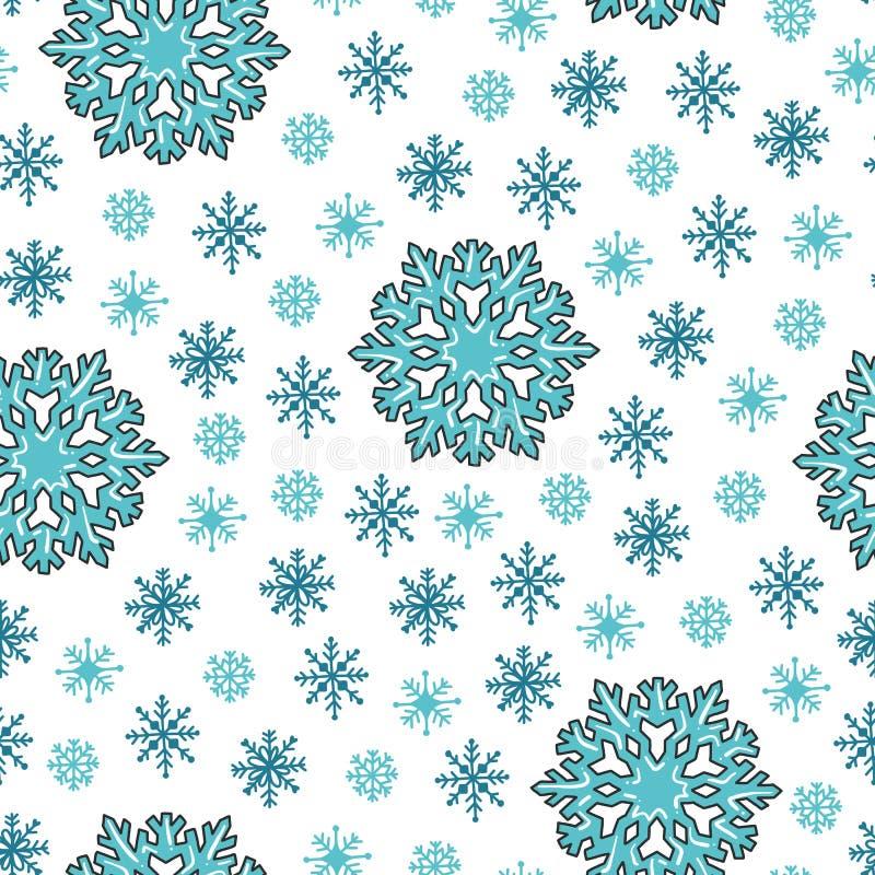 Textur för Colorfuly xmas-seamles vektor illustrationer