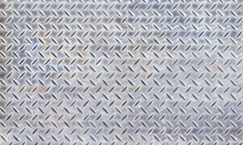 textur för diamantplattastål arkivbilder