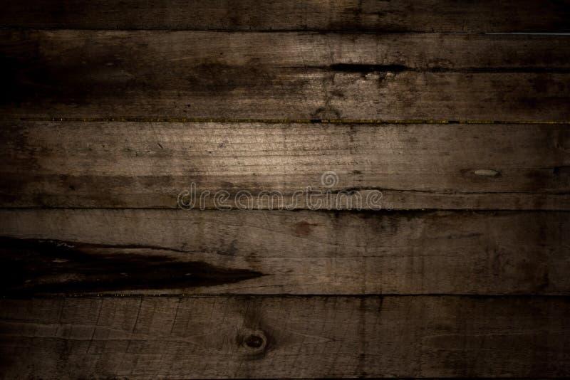 Textur för horisontalladugårdträväggplank Återvinner gammalt trä arkivbild