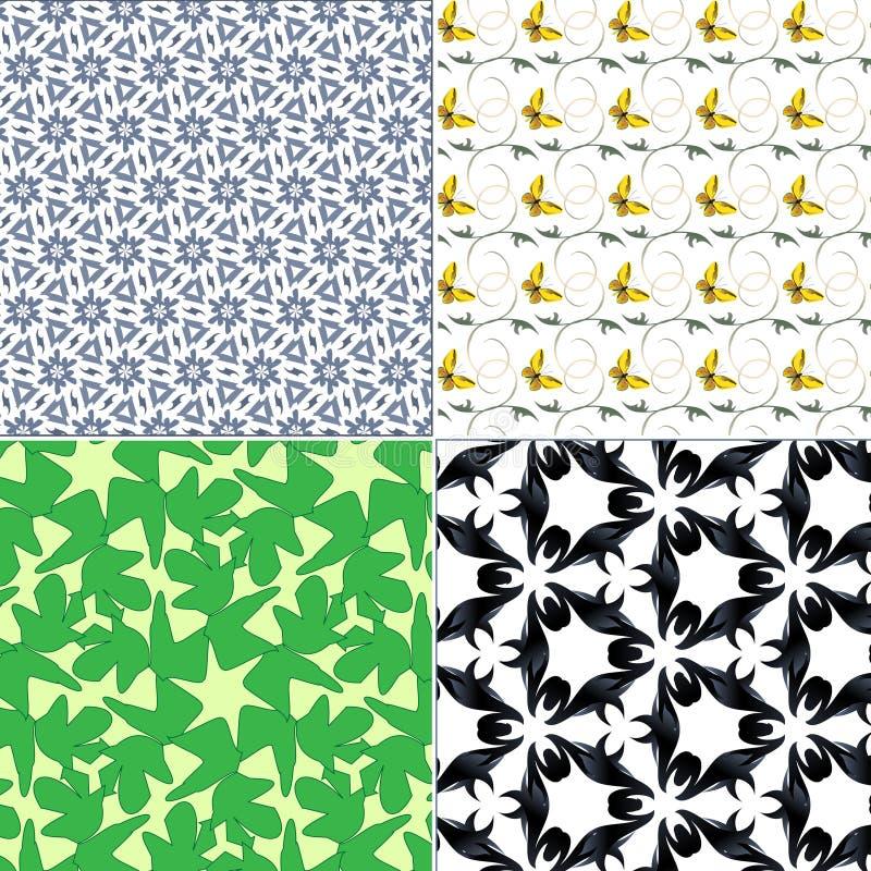 Textur för inpackningspapper royaltyfri illustrationer