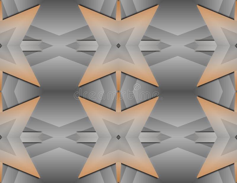 Textur för inpackningspapper, tapet på väggen, modern decobeståndsdel vektor illustrationer