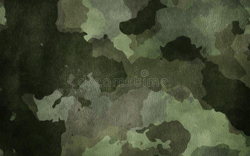 Textur för kamouflagemodelltorkduk Bakgrund och textur för design royaltyfri fotografi