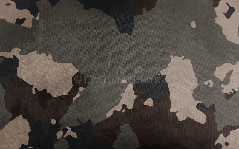 Textur för kamouflagemodelltorkduk Bakgrund och textur för design fotografering för bildbyråer