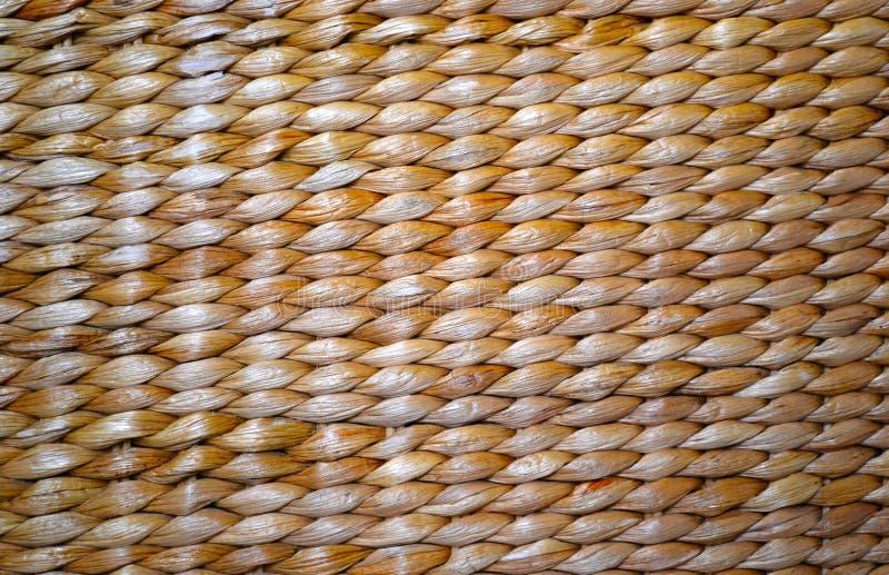 Textur för korgväv av den lantliga naturen royaltyfri foto