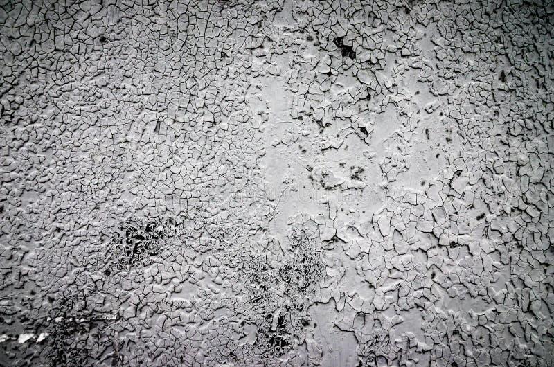 Textur för målarfärg för tappninggrå färgmetall royaltyfri foto