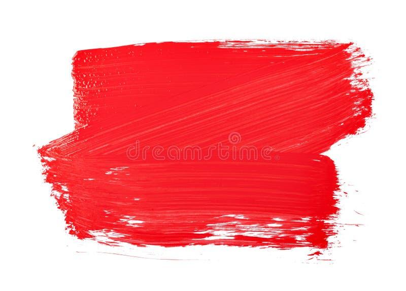 Textur för målarfärgborste vektor illustrationer