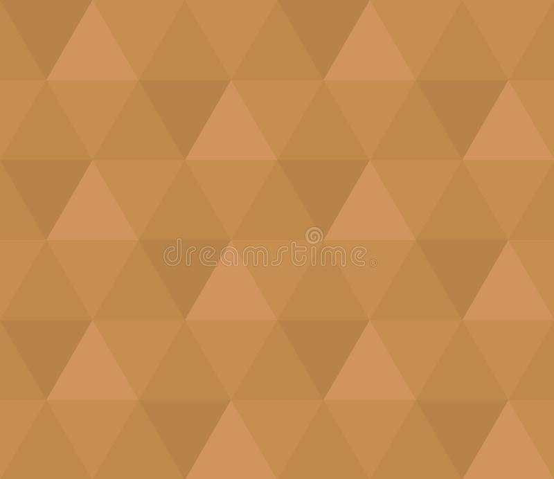 Textur för modell för sexhörningsbrunt sömlös royaltyfri illustrationer