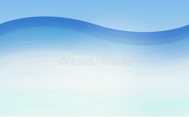 Textur för modell för vektor för vattenvågor geometrisk sömlös upprepande vektor illustrationer