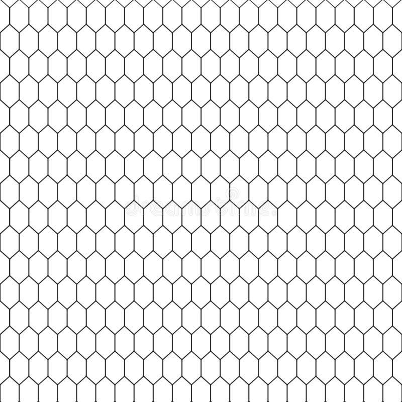 Textur för ormhud Svartvit bakgrund för sömlös modell vektor royaltyfri illustrationer
