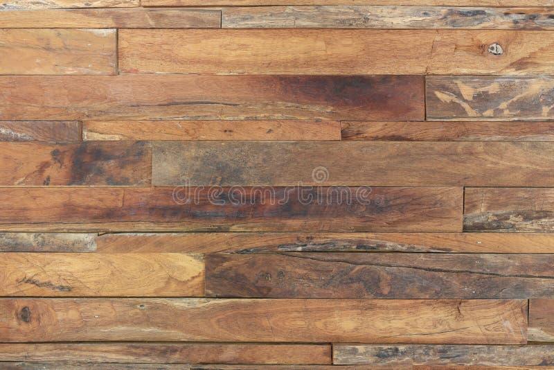 Textur för planka för timmerträbrunt royaltyfri fotografi