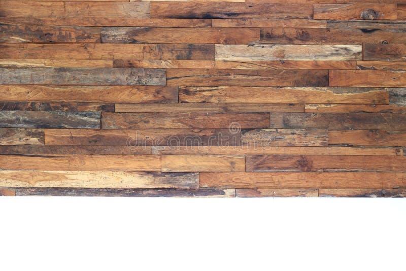 Textur för planka för timmerträbrunt fotografering för bildbyråer