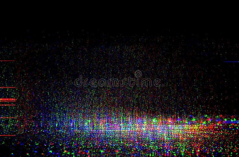 Textur för provskärmtekniskt fel royaltyfri fotografi