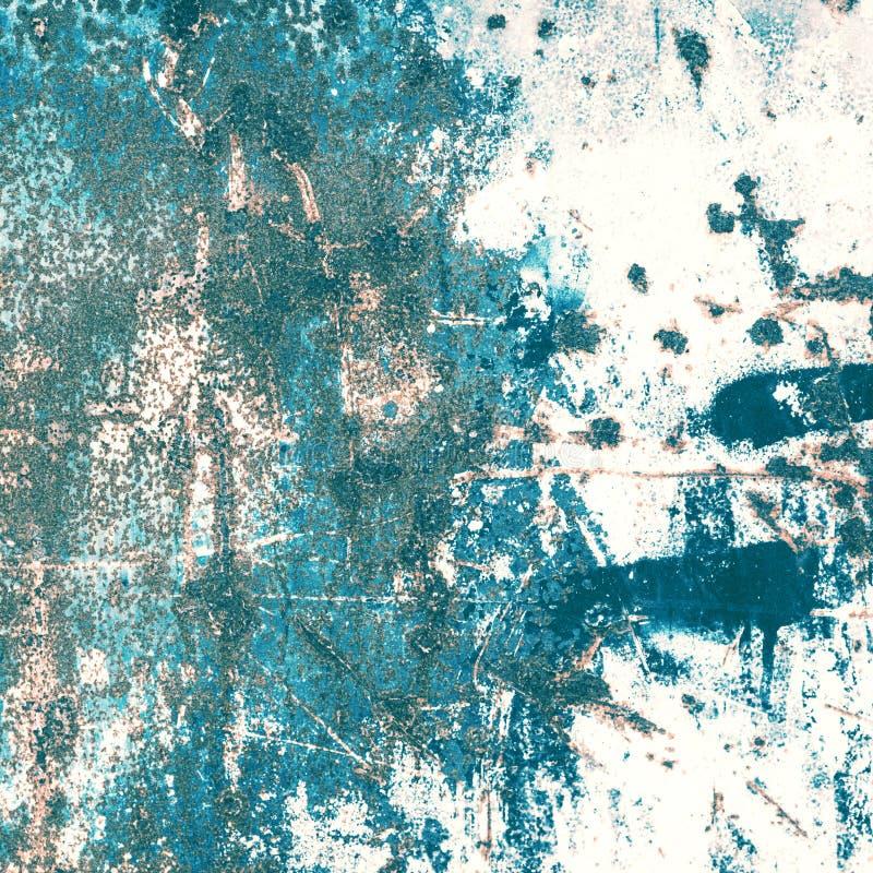 textur för rost för rest för djupare fokus för stång vänster Färgrik rostig gammal skrapad metall texturerad backgr royaltyfri bild