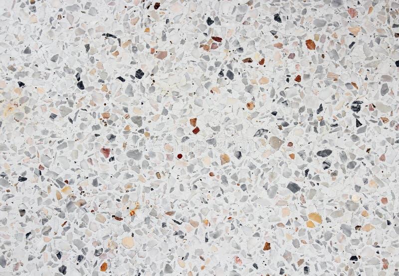Textur för stenvägg, Terrazzomarmorgolv för bakgrund arkivfoton