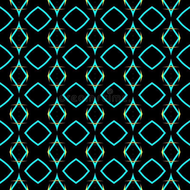Textur för tapeter och tyg Duplicera element Nedbrytning Sömlös ornament Abstrakt textur Sömlös bakgrund royaltyfri fotografi