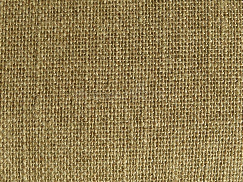 Textur för textlie för brunt för gräns för naturlig fiber för Ramie fotografering för bildbyråer