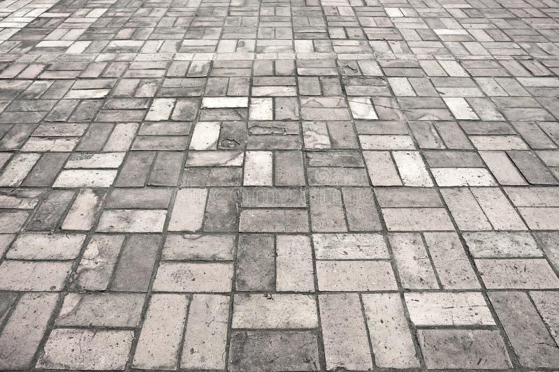Textur för trottoar för stengataväg royaltyfri bild