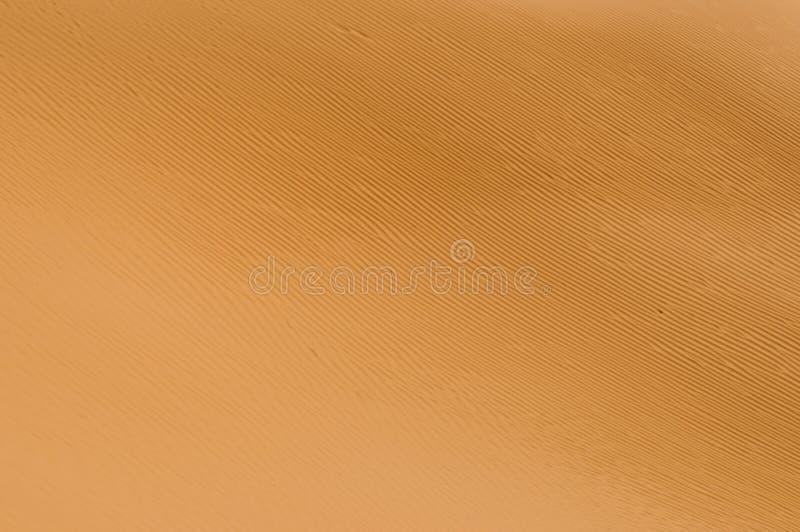 Textur i sanden från vinden i öknen royaltyfria bilder