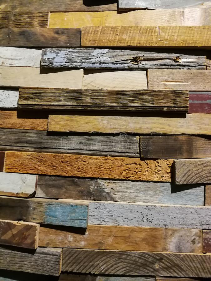 Textur och modell på träbräden arkivbild