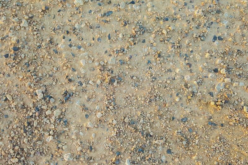 Textura à terra da areia foto de stock