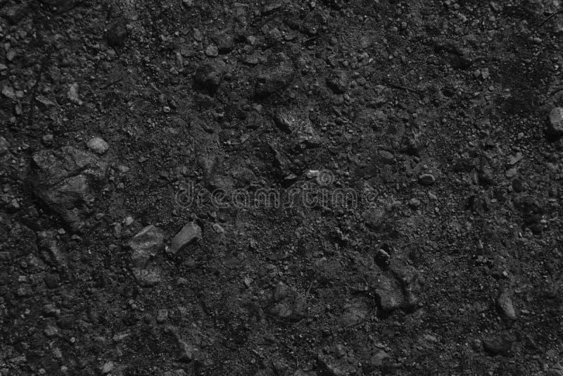 Textura à terra monocromática, superfície da areia, fundo de pedra, bom para o elemento do projeto fotografia de stock royalty free