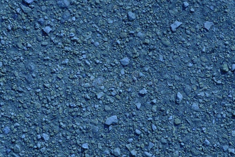Textura à terra ultra azul, superfície da areia, fundo de pedra, bom para o elemento do projeto foto de stock royalty free