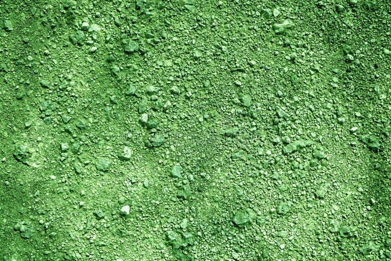 Textura à terra ultra verde, superfície da areia, fundo de pedra, bom para o elemento do projeto imagens de stock royalty free