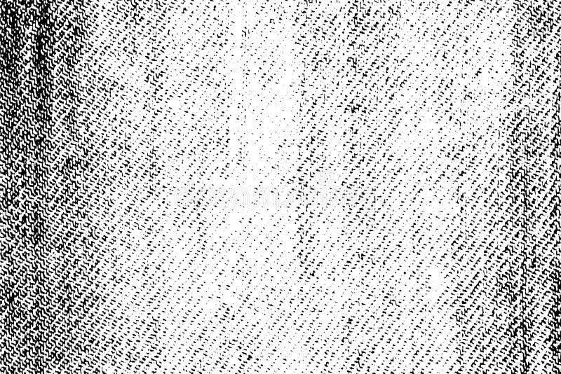 Textura áspera del dril de algodón para crear un movimiento propio del grunge Extracto del vector EPS10 foto de archivo