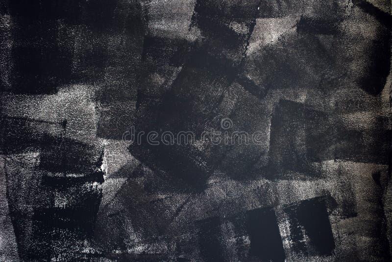 Textura áspera do grunge de cursos desiguais da pintura imagem de stock