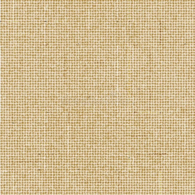 Textura áspera do saco de Brown ilustração do vetor