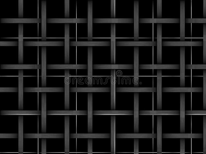 A textura é uma rede ilustração royalty free