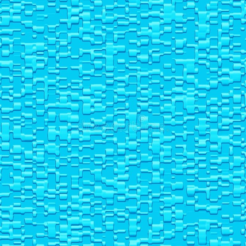 Textura 3D ilustração do vetor