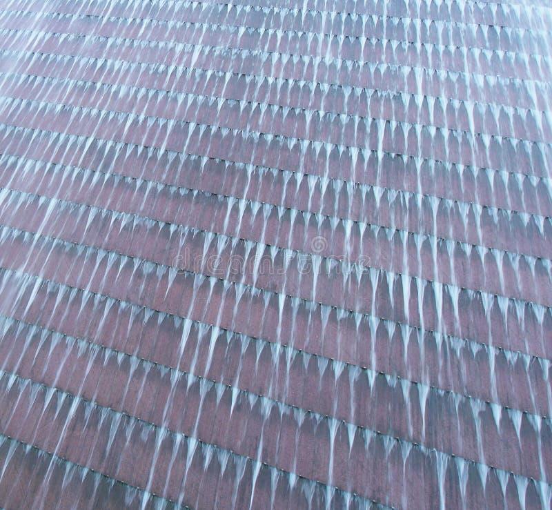 Textura abstracta agua en la pared imagenes de archivo