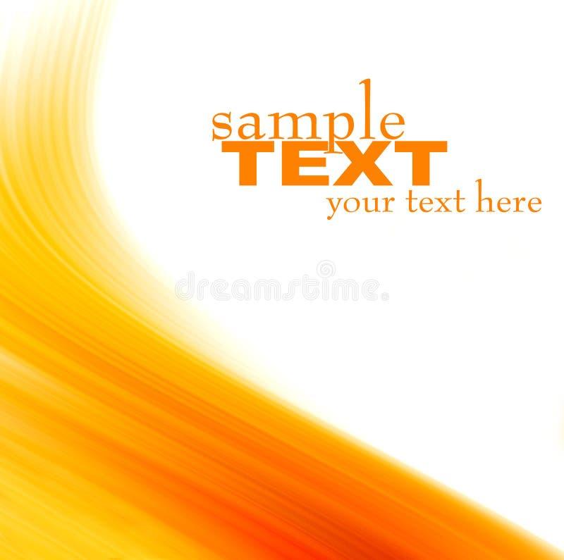 Textura abstracta anaranjada del fondo libre illustration