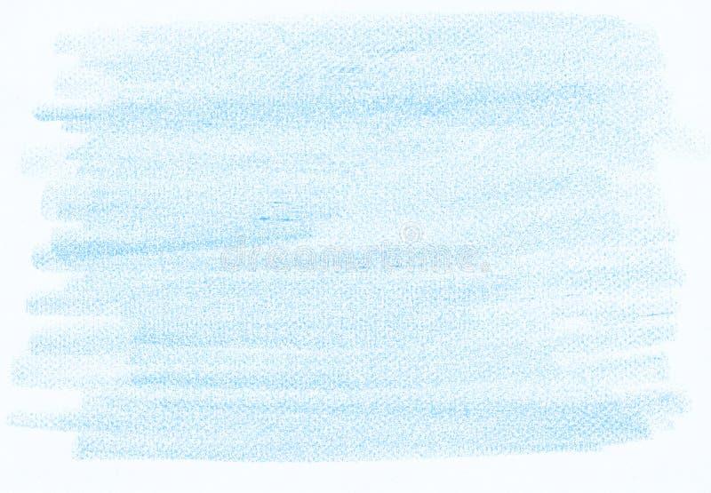 Textura abstracta azul natural del lápiz libre illustration