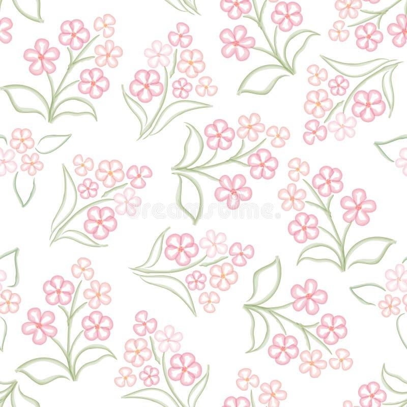 Textura abstracta de la flor del remolino libre illustration