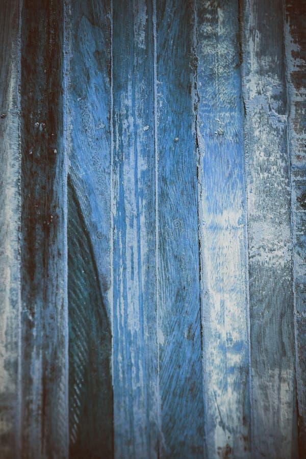 Textura abstracta de madera azul Fondo azul de madera de la vendimia Textura y fondo abstractos para los diseñadores Vista macra  fotografía de archivo