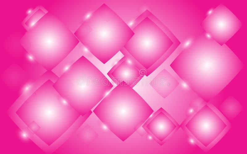 Textura abstracta de Rhombus brillantes airosos ligeros luminosos hermosos inusuales de cuadrados de mágico mágico enérgico stock de ilustración