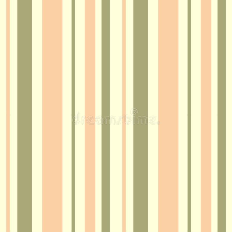 Textura abstracta del fondo con el modelo inconsútil de la raya caliente en colores pastel ilustración del vector