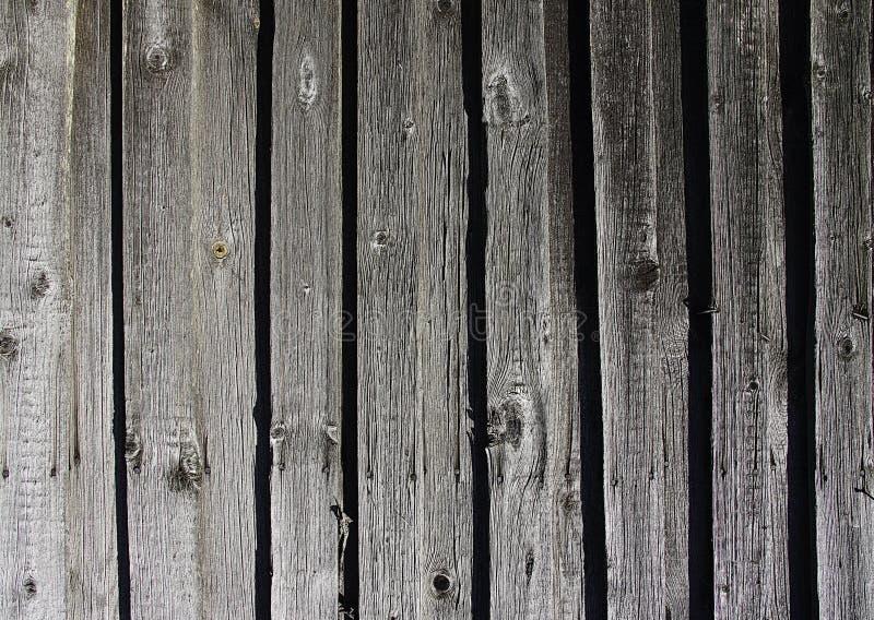 Textura abstracta del fondo de una madera vieja de la pared de la cerca blanco y negro fotos de archivo
