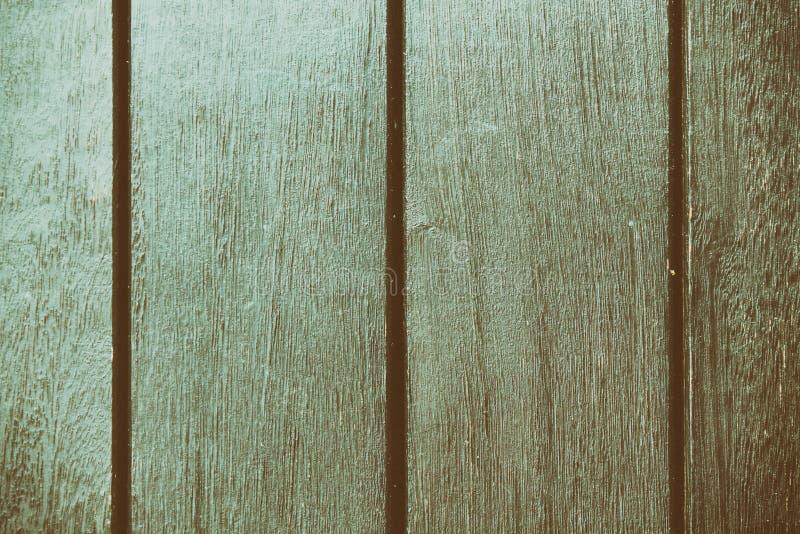 Textura abstracta del fondo del decking de madera con los tablones paralelos con huecos fotografía de archivo