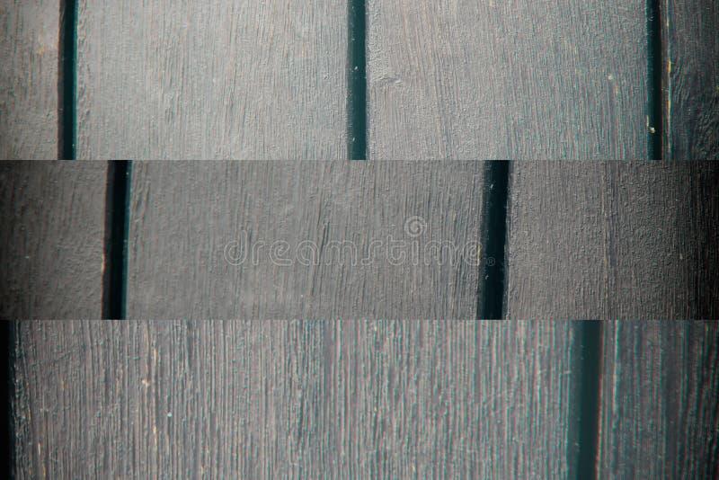 Textura abstracta del fondo del decking de madera con los tablones paralelos con huecos fotografía de archivo libre de regalías