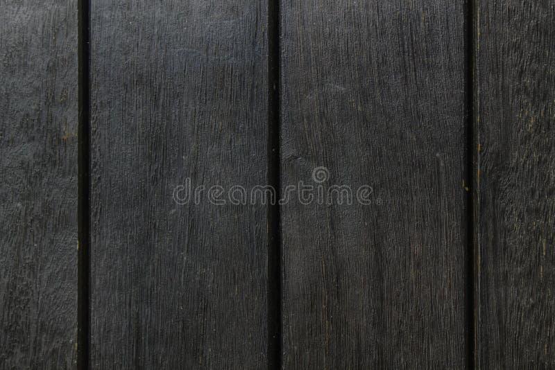 Textura abstracta del fondo del decking de madera con los tablones paralelos con huecos foto de archivo libre de regalías
