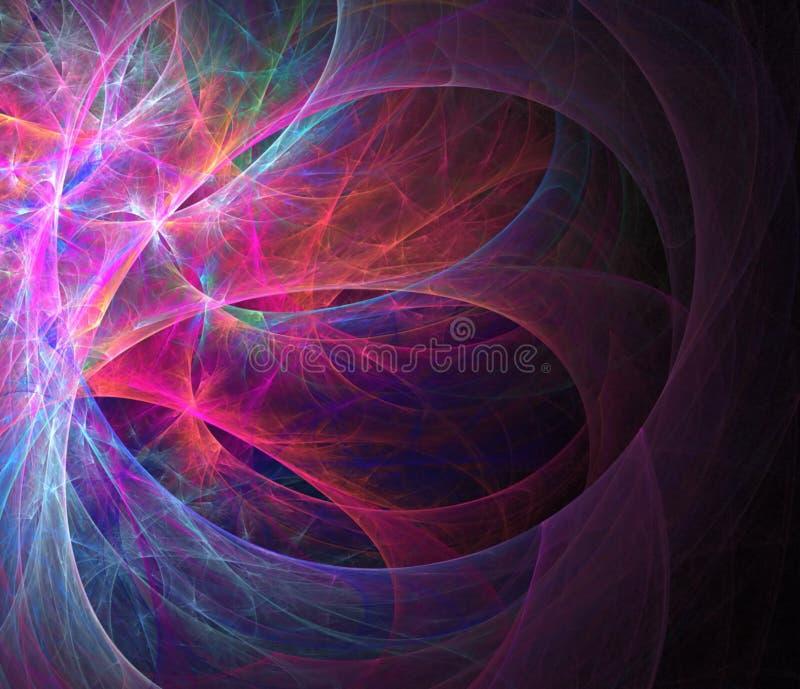 Textura abstracta del fractal ilustración del vector